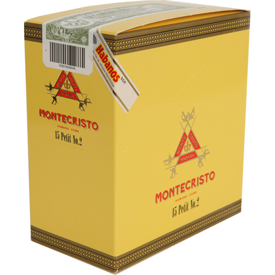 Montecristo Petit No.2 3 Cigars